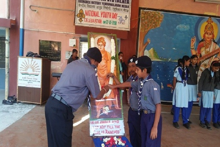 Kendriya Vidyalaya-National Youth Day Celebrations