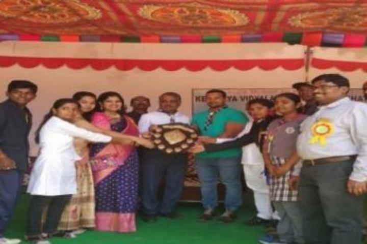 Kendriya Vidyalaya-Felicitation