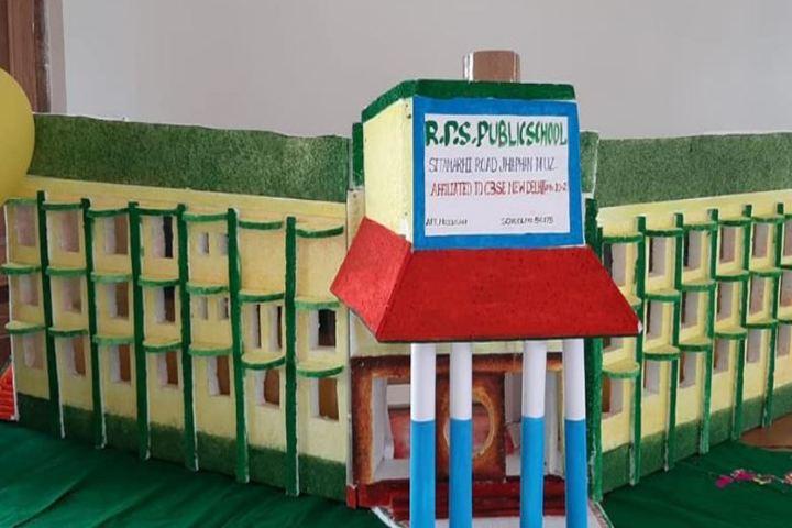 Ramji Prasad Sahu Public School-Campus Art