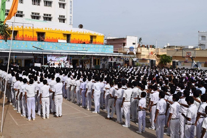 MV Raman High School-Assembly