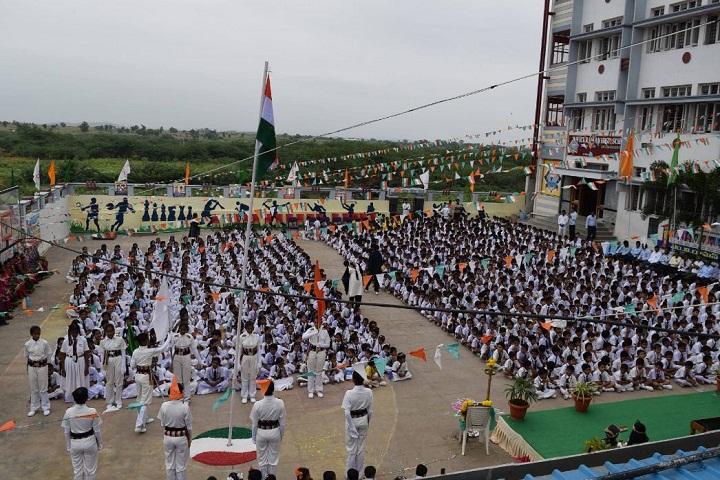 MV Raman High School-Republicday