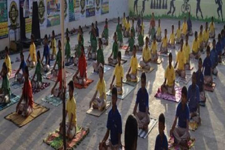 MV Raman High School-Yoga
