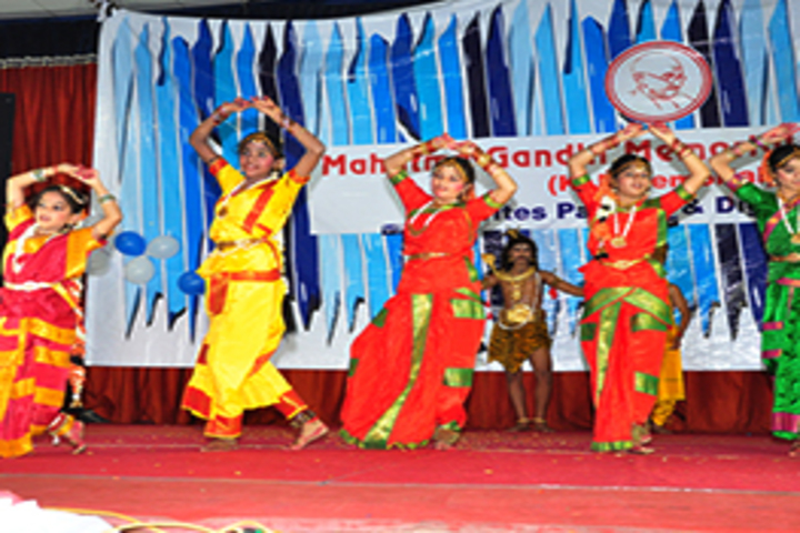 Mahatma Gandhi Memorial High School-Cultural Dance