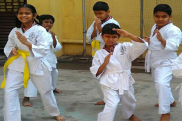 Mahatma Gandhi Memorial High School-Karate