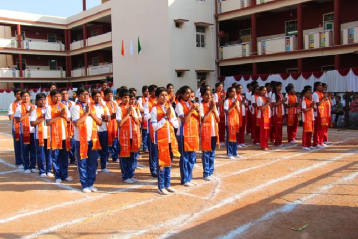 Matrusri Dav Public School-Assembly