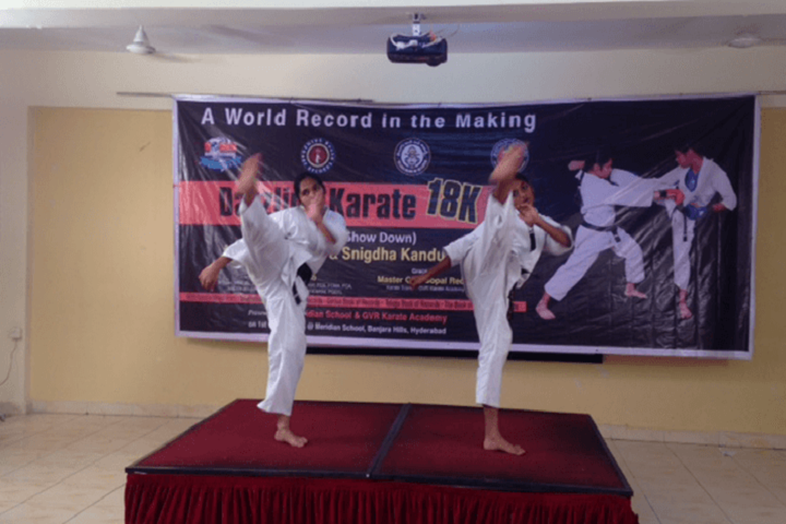 Meridian School For Boys and Girls-Karate