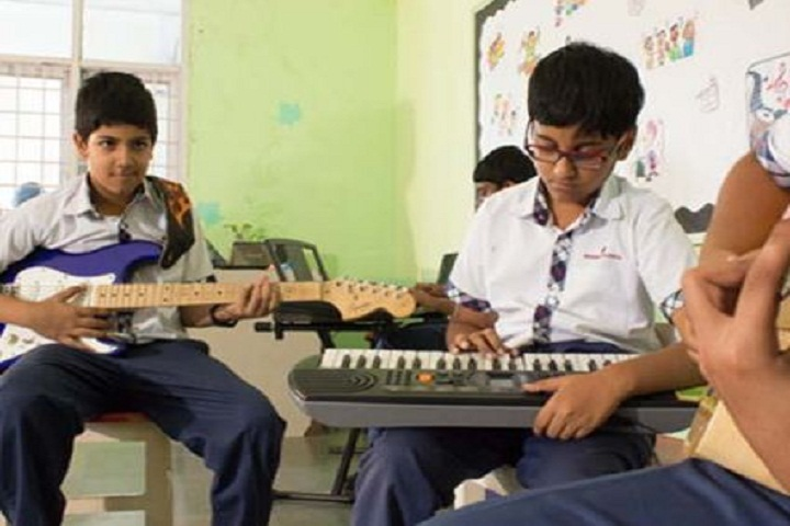 Meridian School For Boys and Girls-Music Room