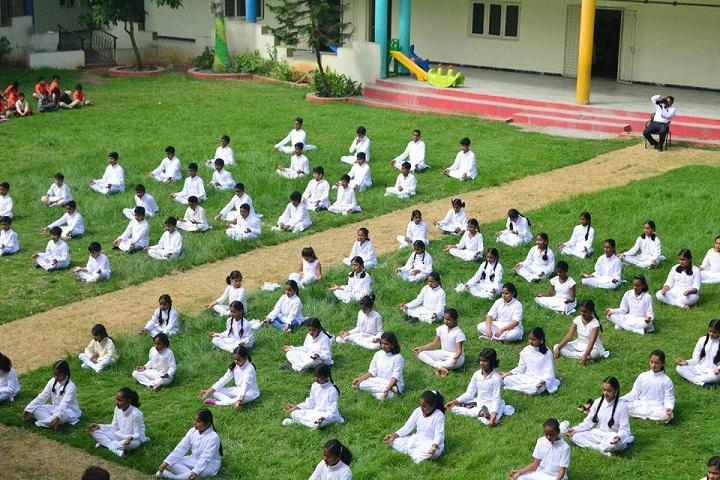 Navyabharathi Global School-Yogaday
