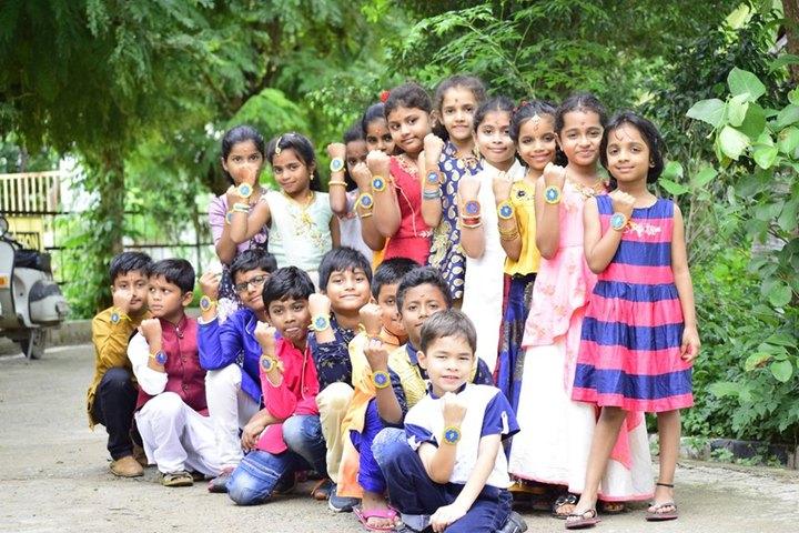 Navyabharathi Global School-Rakhi Celebrations