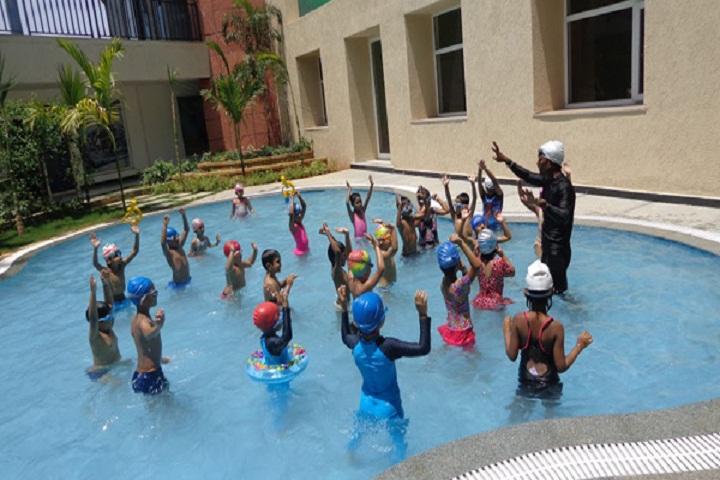 Oakridge International School-Water Games