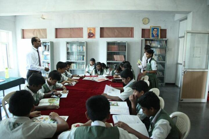 Oasis Public School-Library