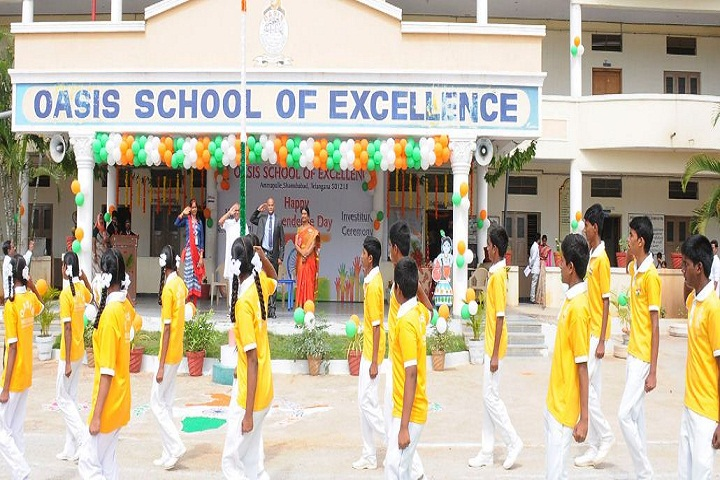 Oasis School Of Excellence-Republic Day