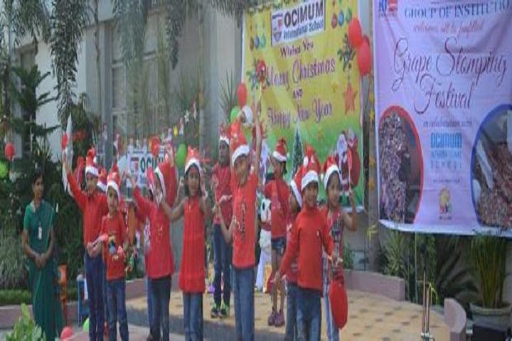 Ocimum International School-Christmas-Celebrations