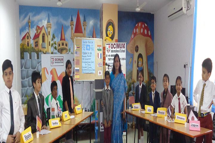 Ocimum International School-Exhibition