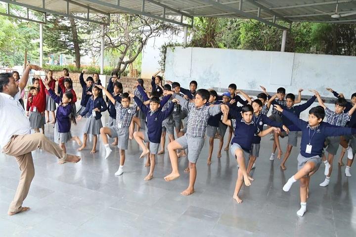 P Obul Reddy Public School-Dance
