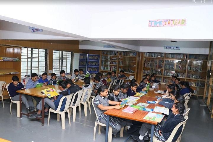 P Obul Reddy Public School-Library
