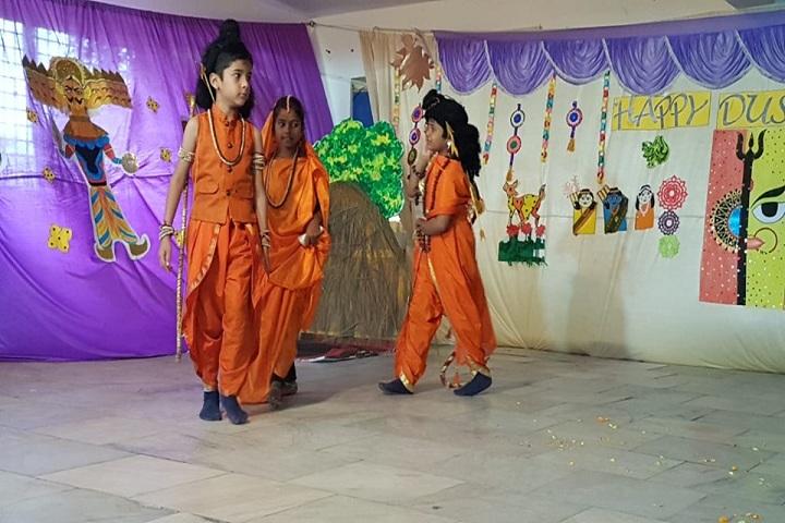Pallavi Model School-Drama