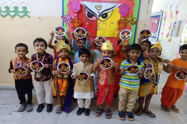 Pallavi Model School-Festival Celebration