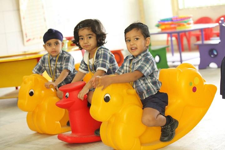 Pallavi Model School-Playroom