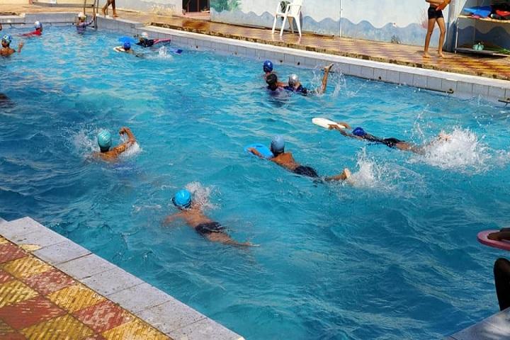 Pallavi Model School-Swimming