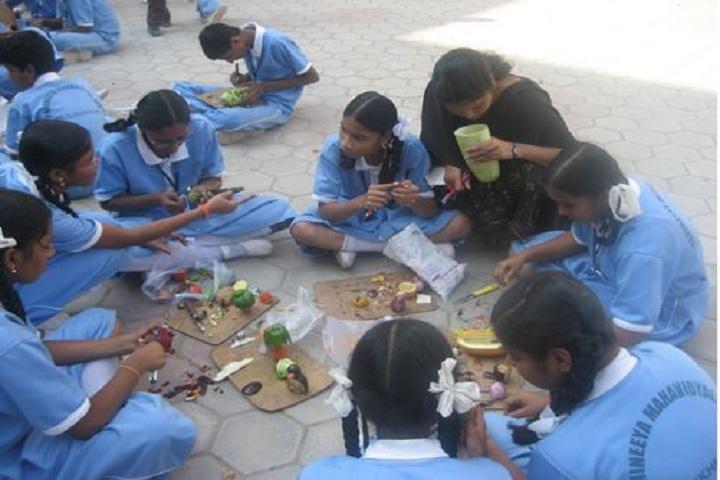 Panineeya Mahavidyalaya Public School-Food Decoration Competition