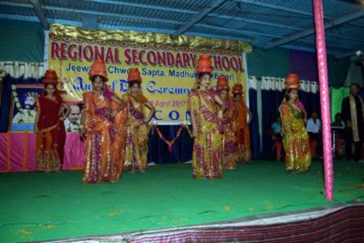 Regional Secondary School-Dance Activity