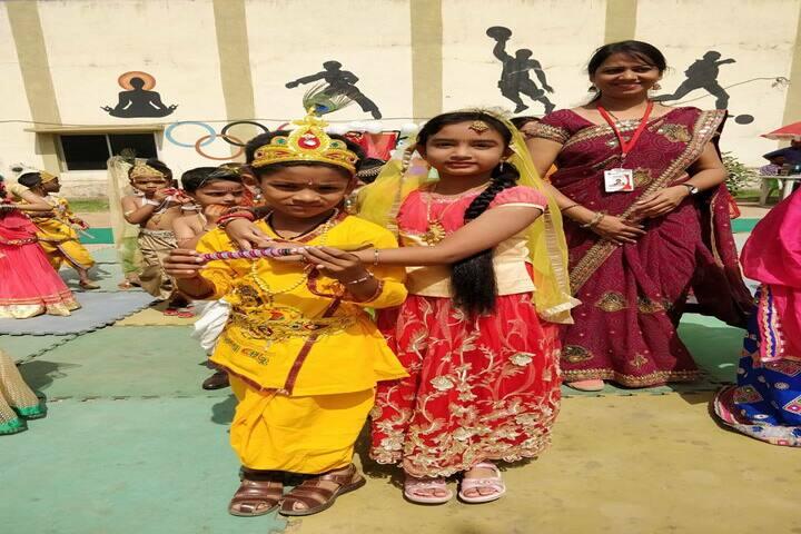 Radcliffe School-Janmashtami Celebrations