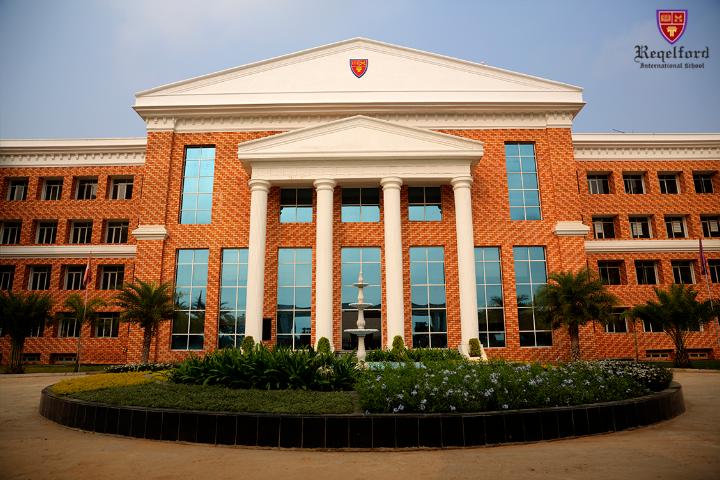Reqelford International School - School Building & Front View