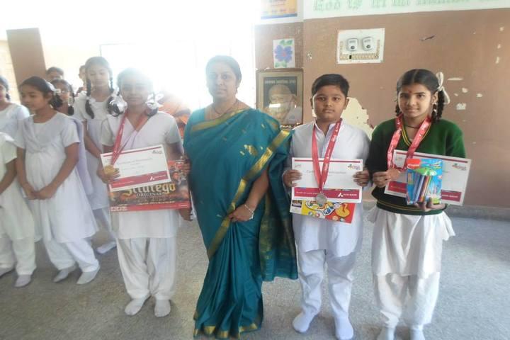 Rishi Public School-Drawing Competition Winners
