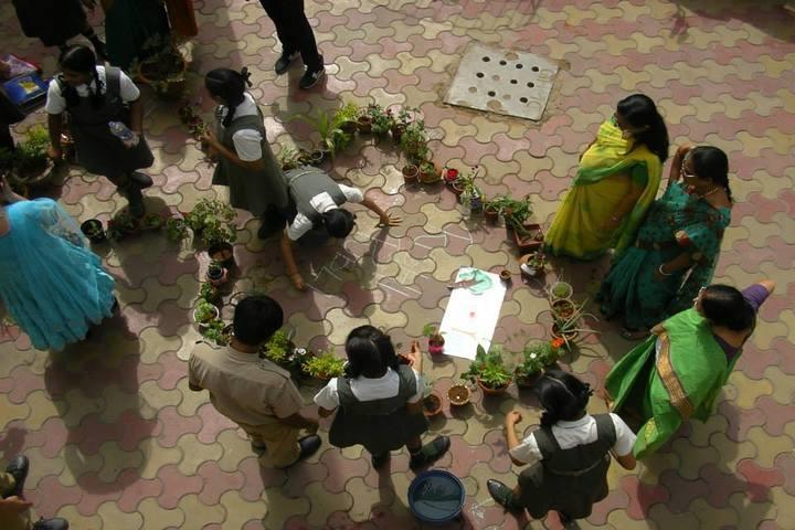 Rishi Public School-Go Green Activity