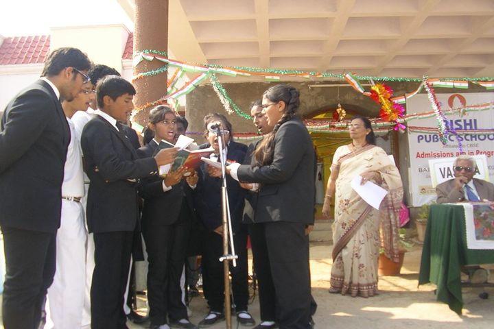 Rishi Public School-Group Singing