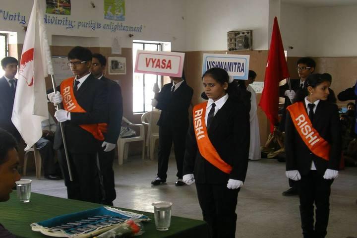 Rishi Public School-Investiture Ceremony