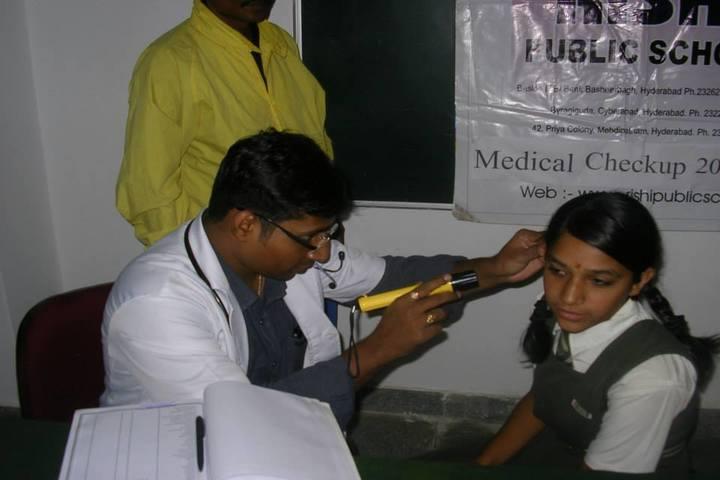 Rishi Public School-Medical Checkup