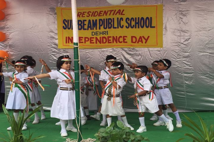 Residential Sun Beam Public School-Independence Day