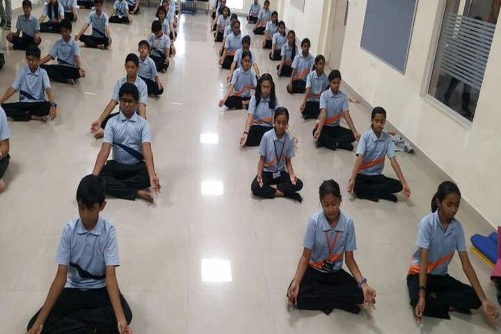 Rockwell International School-International Yoga Day