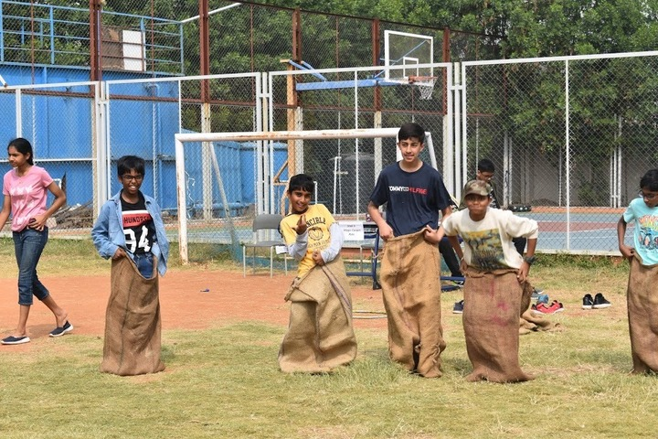 Rockwell International School-Sports Day