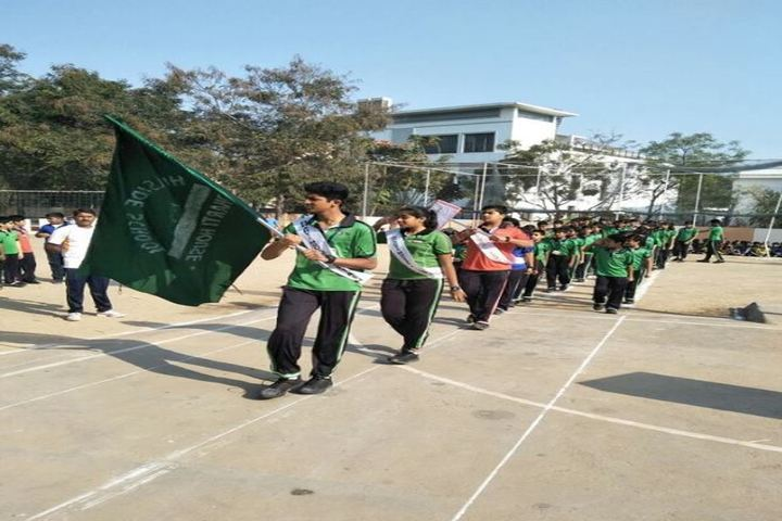 Roots Montessori School-March Past