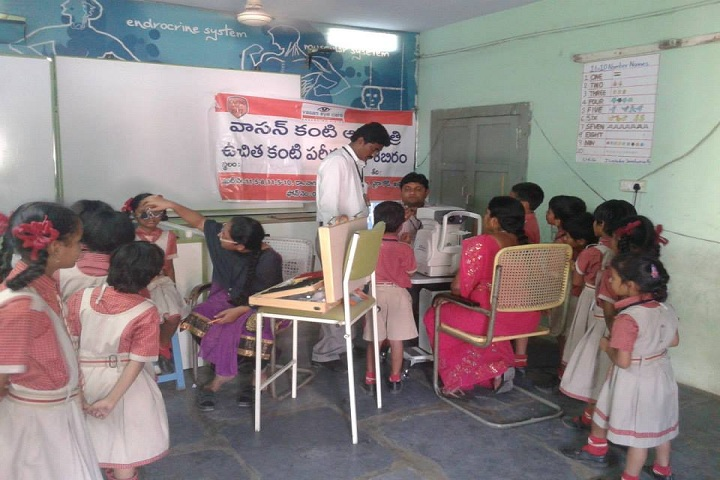 S V M Central Public School-Health Check Up