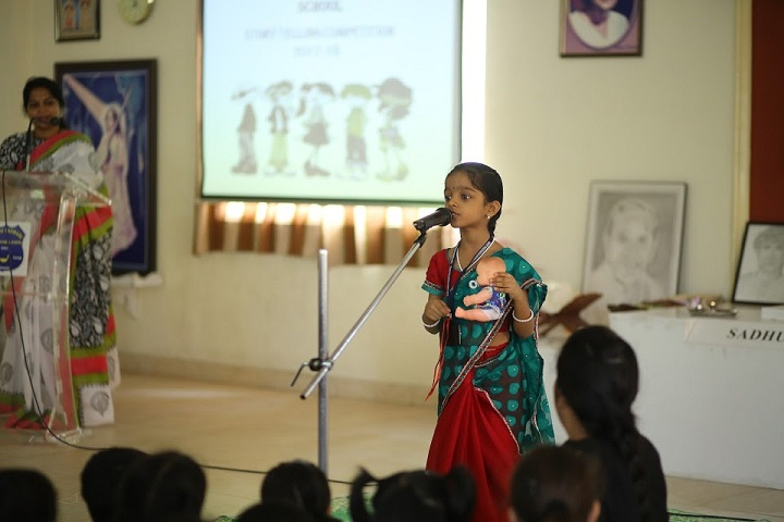 Sadhu Vaswani International School-Story Telling Competition