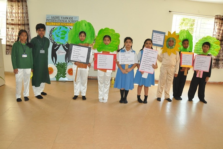 Sadhu Vaswani International School-World Earth Competition
