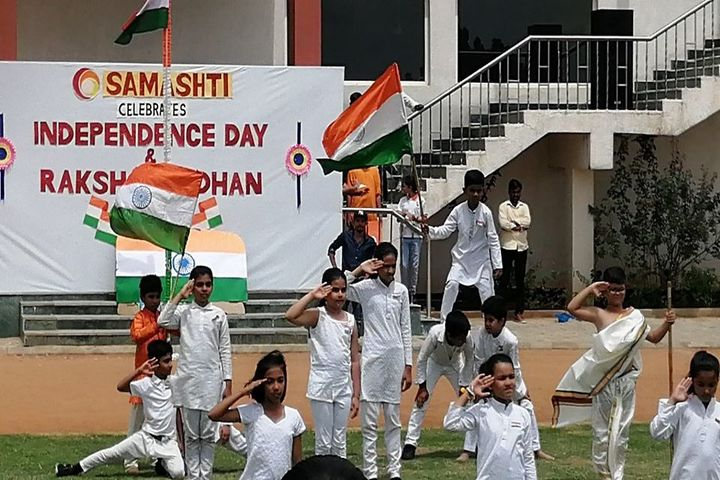 Samashti International School-Independence Day