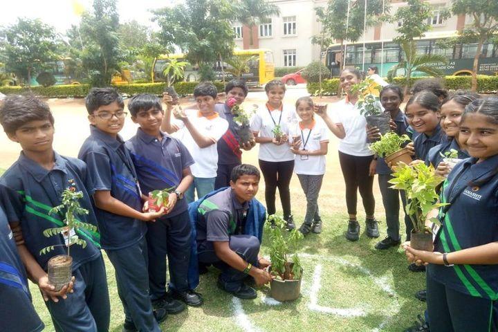 Samashti International School-Tree Plantation