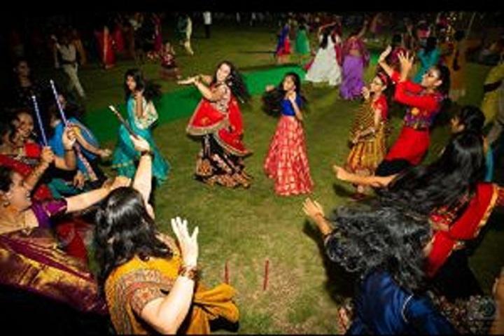 Samashti International School-Bathukamma Celebrations