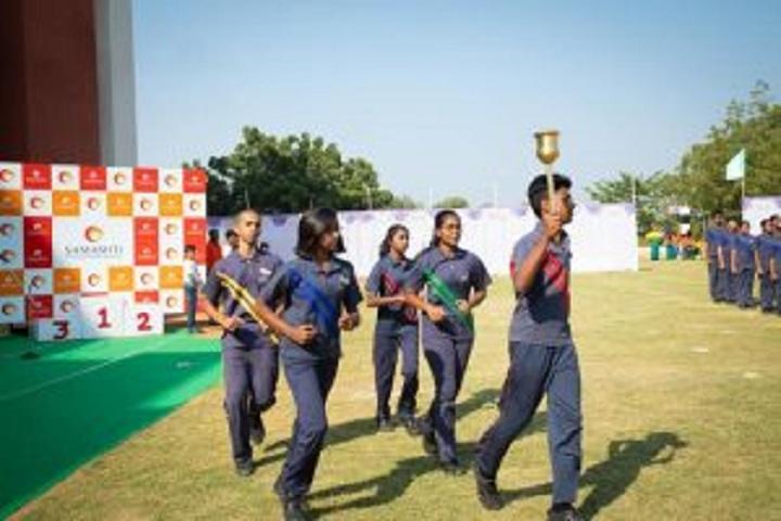 Samashti International School-Sports Day