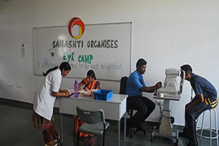 Samashti International School-Vasan Eye Care Camp