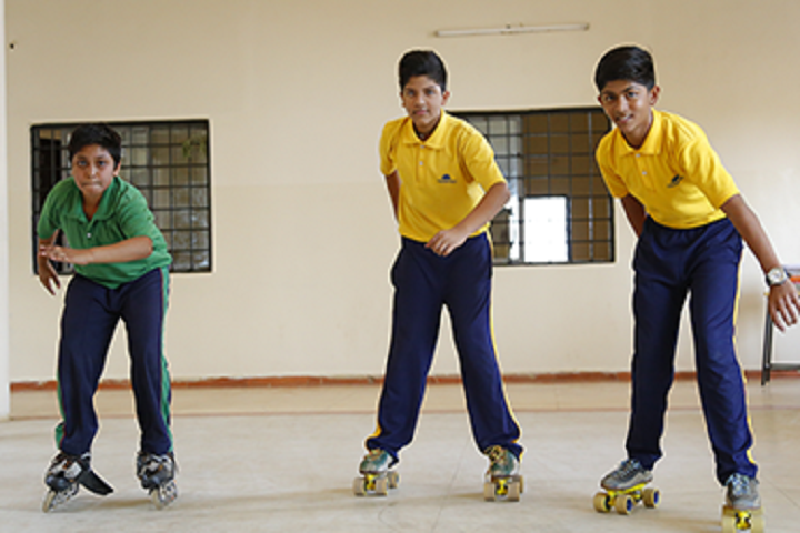 Sanskar Innovative School-Skating
