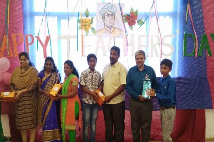 Sanskar Innovative School-Teachers Day