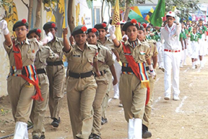 Sanskriti The School-NCC
