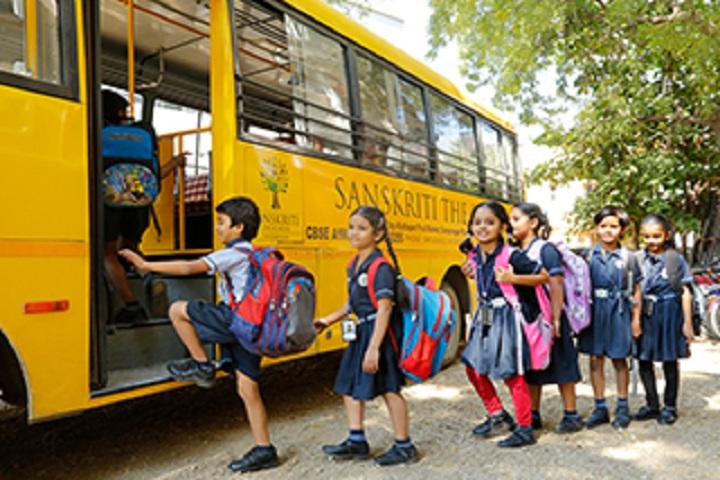Sanskriti The School-Transport facility