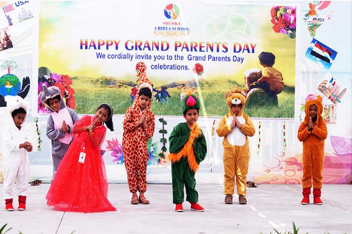 Shloka A Birla School-Grand Parents Day